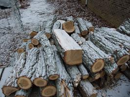 Snow, Cold weather, Wood heating